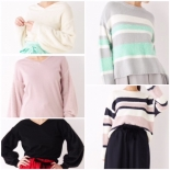 Spring color knit collection